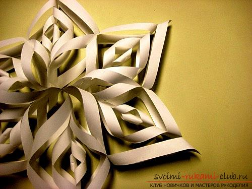 A voluminous craft for the new year - 2 ideas for handmade crafts. Photo №4