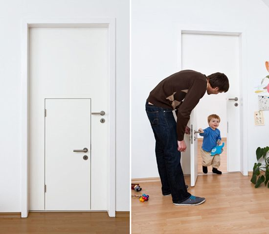 children's interior doors 2 in 1