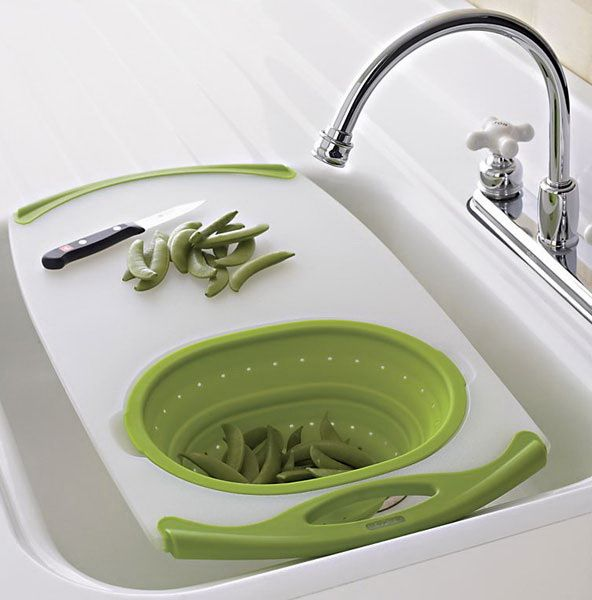 plastic cutting board for a sink