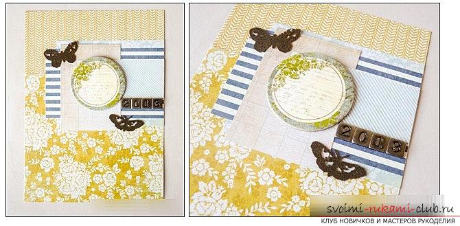 Scrapbooking books and covers for the wedding book with their own hands - a master class. Photo №8
