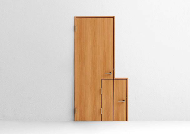 multifunctional creative door Nendo baby