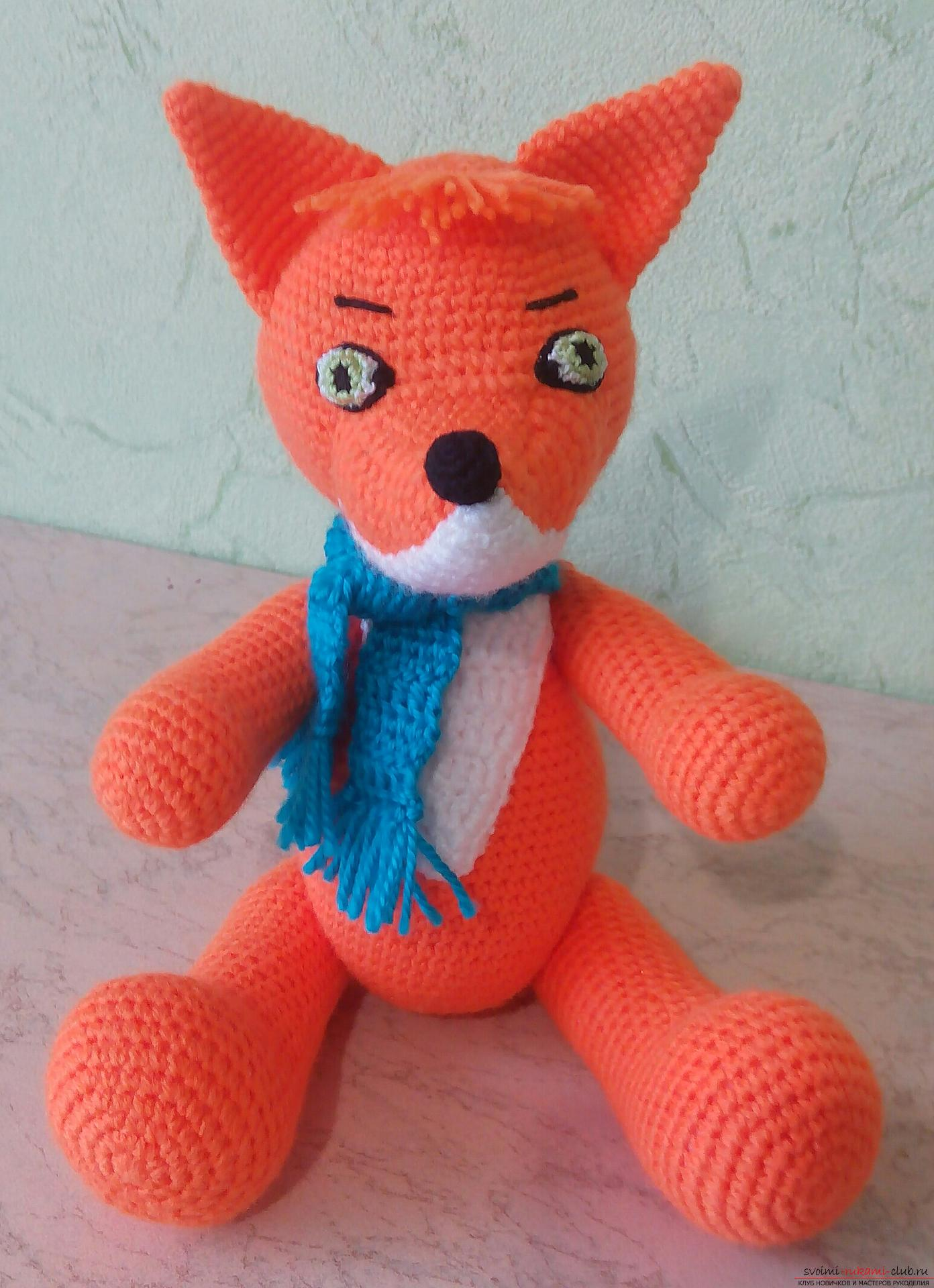 Toy lisenok with moving paws. Picture №3