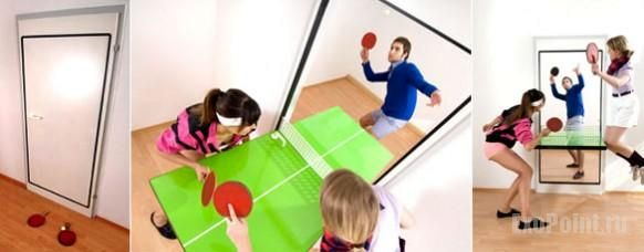 creative doors - table tennis