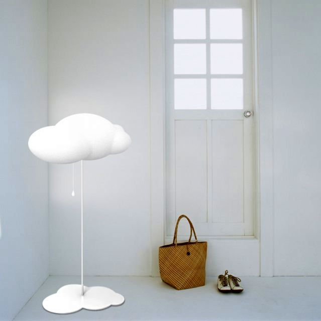 Floor lamp in the form of a cloud zhao liping