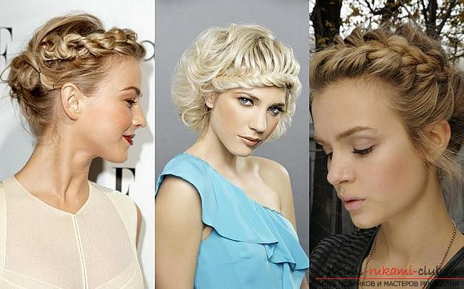 Various options for evening hairstyles for medium hair, tips for creating them and visual examples .. Photo # 7