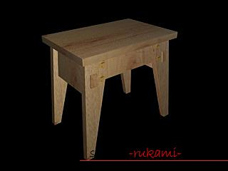 Photo to the lesson on making a small bench for a child with a secret box. Photo number 15