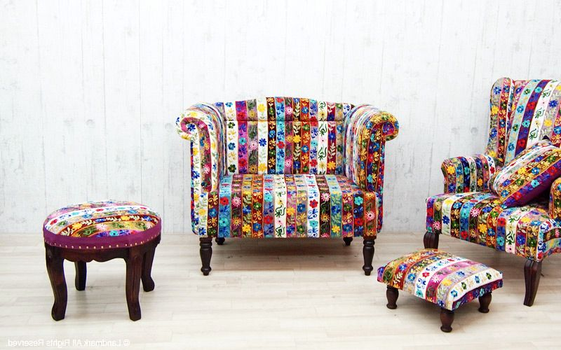 Furniture in patchwork style