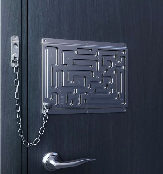 creative door chain