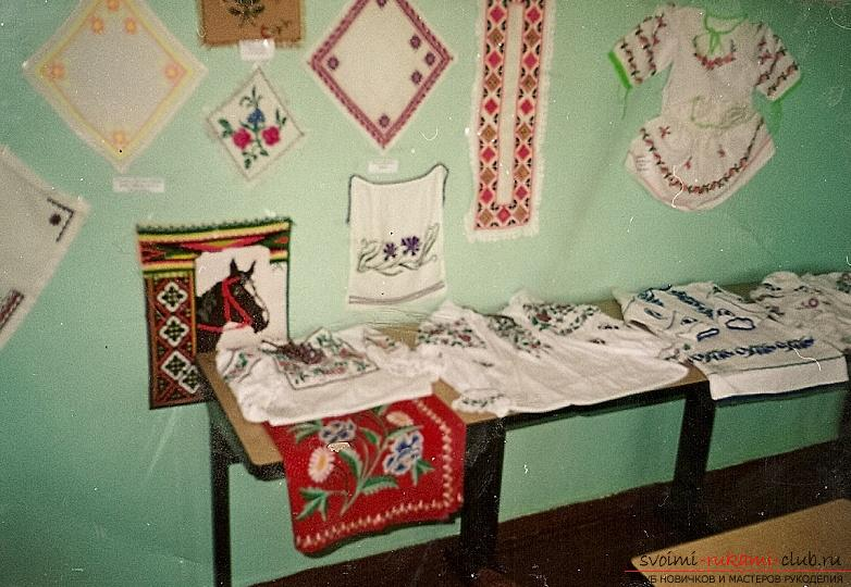 Children's embroidery of pictures cross. Photo №1
