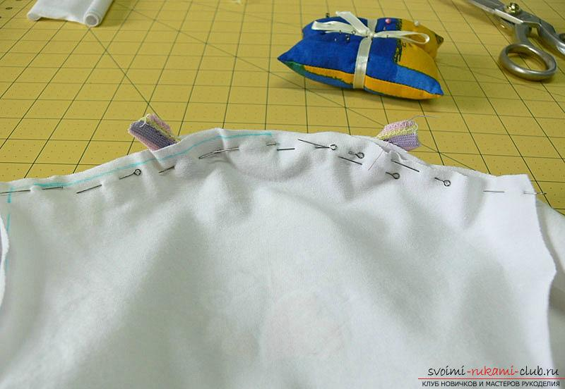 Pattern and sewing body for a newborn baby. Picture №10