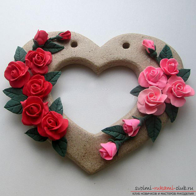 How to make a souvenir with roses in person to the Day of all lovers ?. Photo Number 18