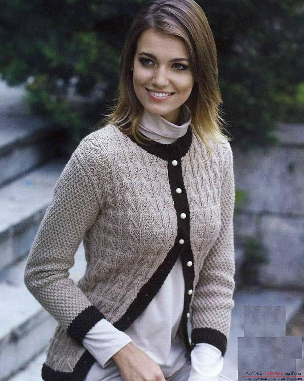 knitted knitted sweaters for women. Photo №1