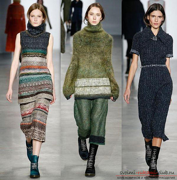 Knitted fashion of the autumn-2015 season. Picture №3