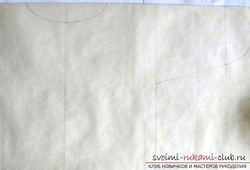 Een masterclass over het naaien van een baby's kraag voor een pasgeborene. Afbeelding №3