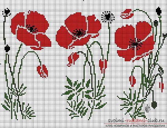 Create a beautiful cross-stitch embroidery with your own hands. Photo №6