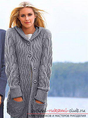 Original and comfortable clothes with knitting needles for winter - 2015. Picture №3