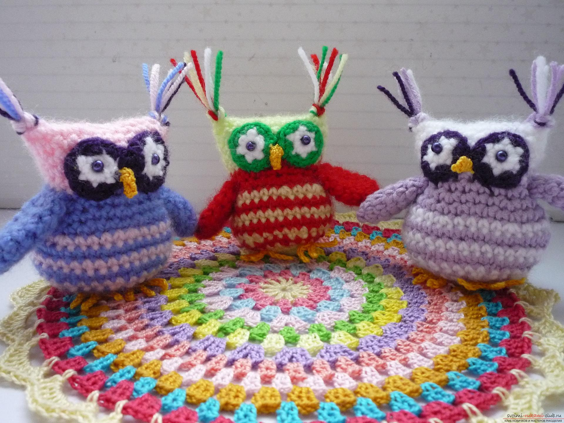 A detailed master-class will teach how to crochet a toy - an amenity in the amigurumi style. Photo Number 21