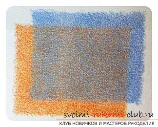 Tinting the picture with colored pencils. Photo №7