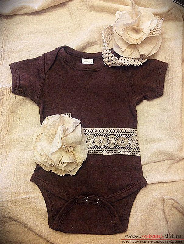 Pattern and sewing body for a newborn baby. Photo №1