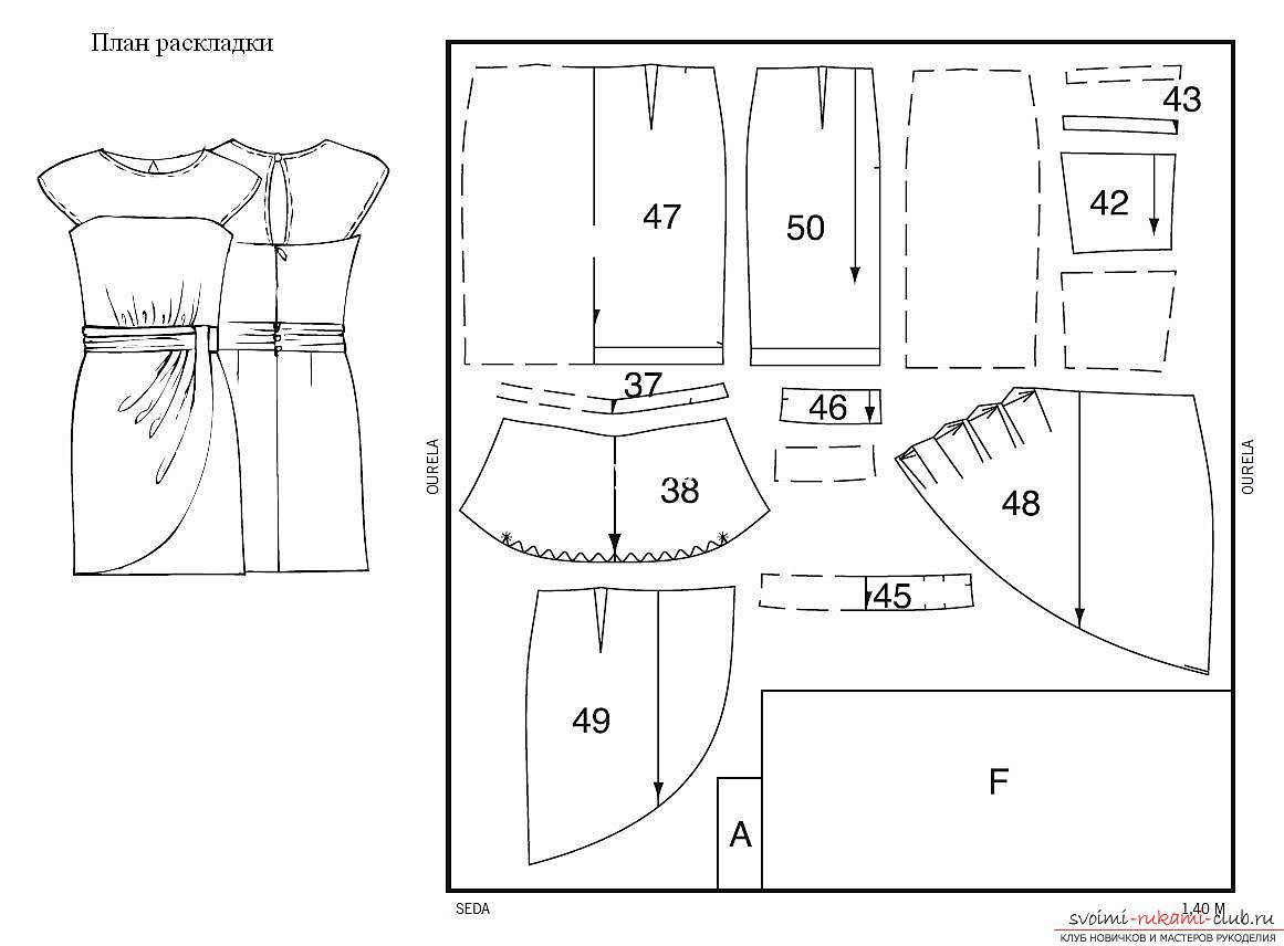 Photos of patterns of women's clothing patterns. Picture №3