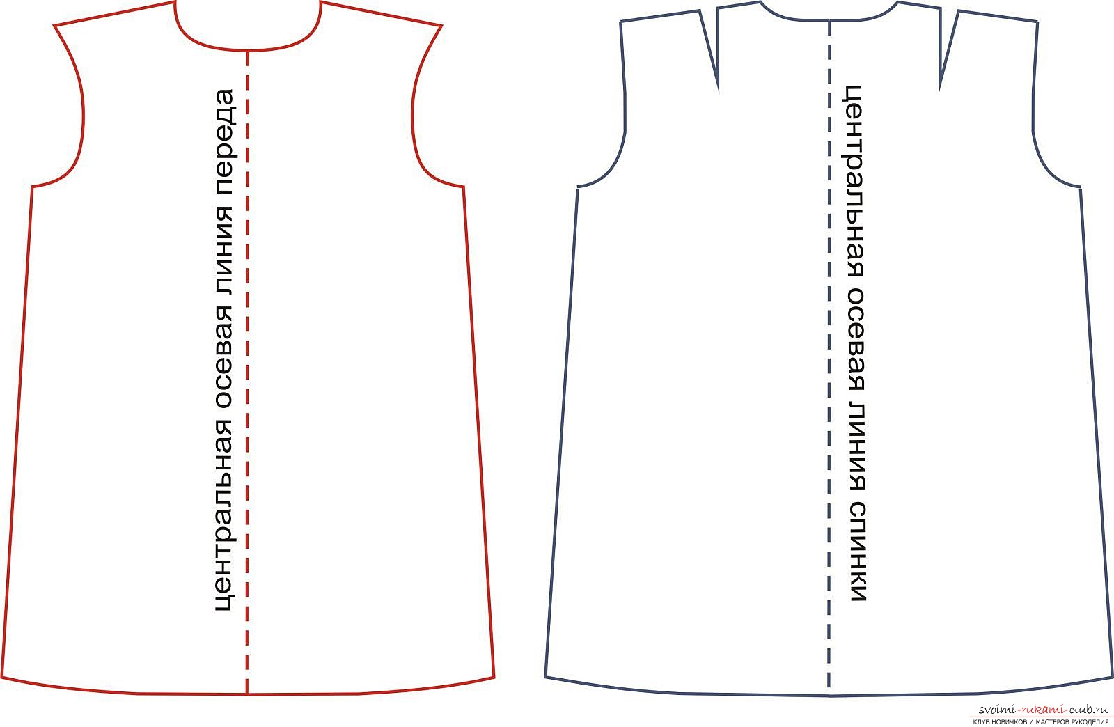 photoinstruction for a dress pattern. Picture №3
