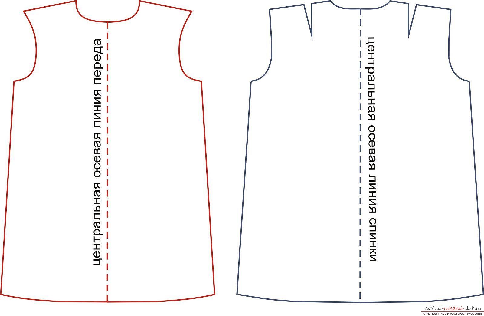 фотоинструкция за модел на облекло. Снимка №3