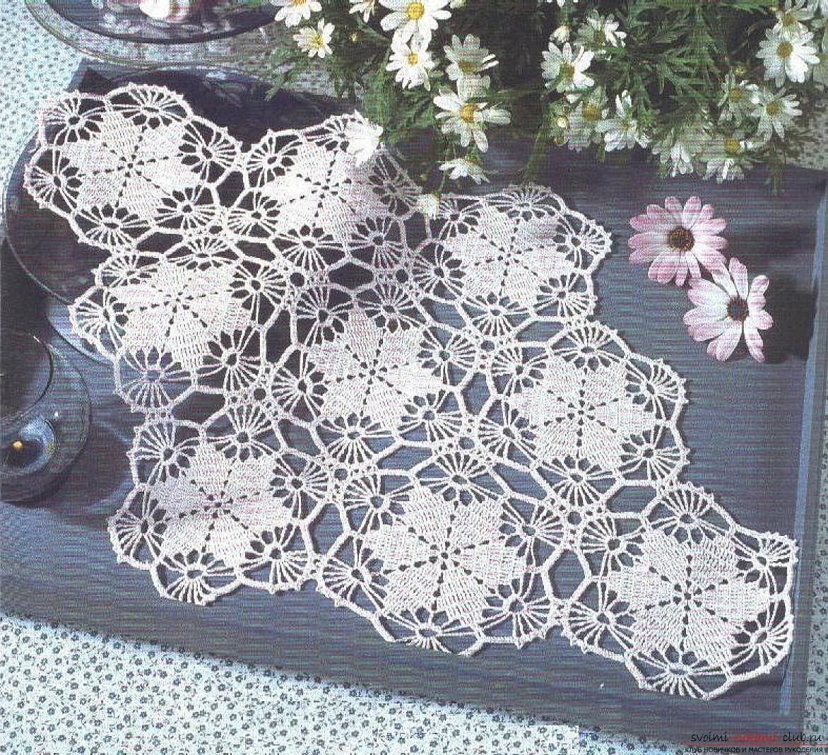 crocheted beautiful patterns. Picture №3