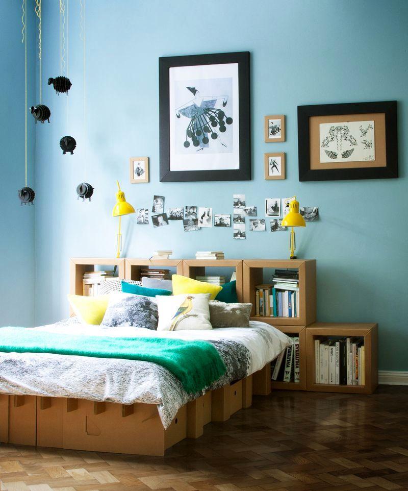 ліжко з картону австралійської студії Karton Group