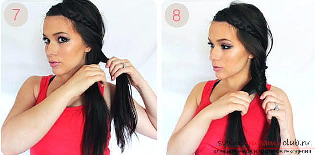 Master classes on creating hair styles for hair of medium length with their own hands. Photo №1