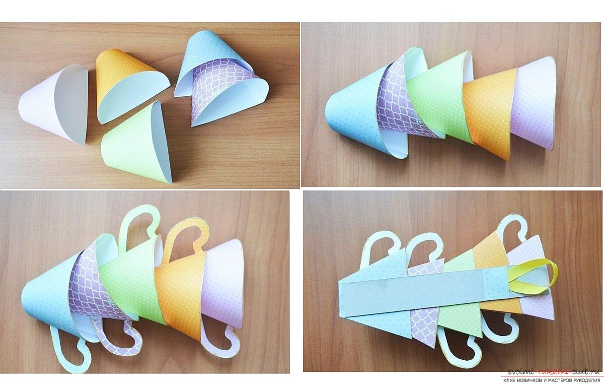 How to make your own hands beautiful and original crafts using kiwing techniques and others, step-by-step photos and instructions for creating paper crafts. Photo №6