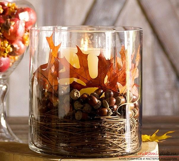 Crafts from maple leaves with their own hands: several lessons. Picture №10