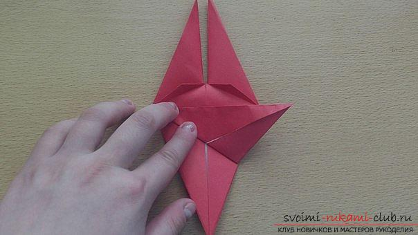 This detailed master-class contains an origami-dragon scheme made of paper, which you can make by yourself. Photo # 24