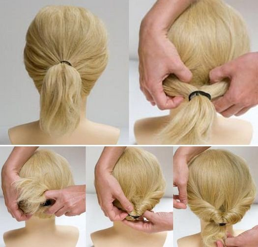Hairstyles in five minutes. Photo # 2