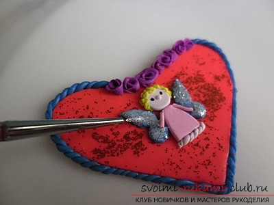 Clay valentine, materials for valentine for free, photos .. Picture №3
