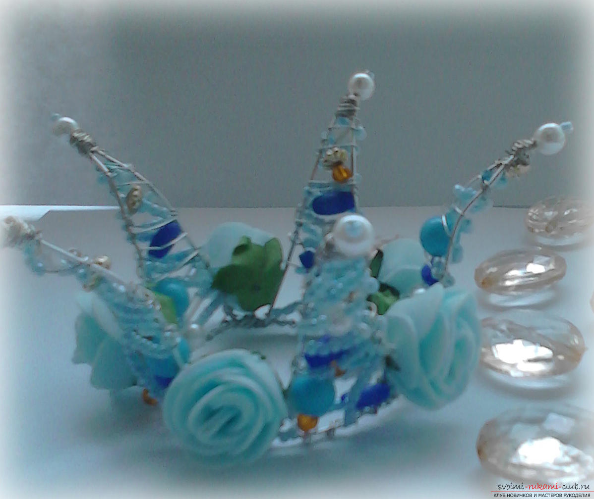 Crown of beads. Photo №1