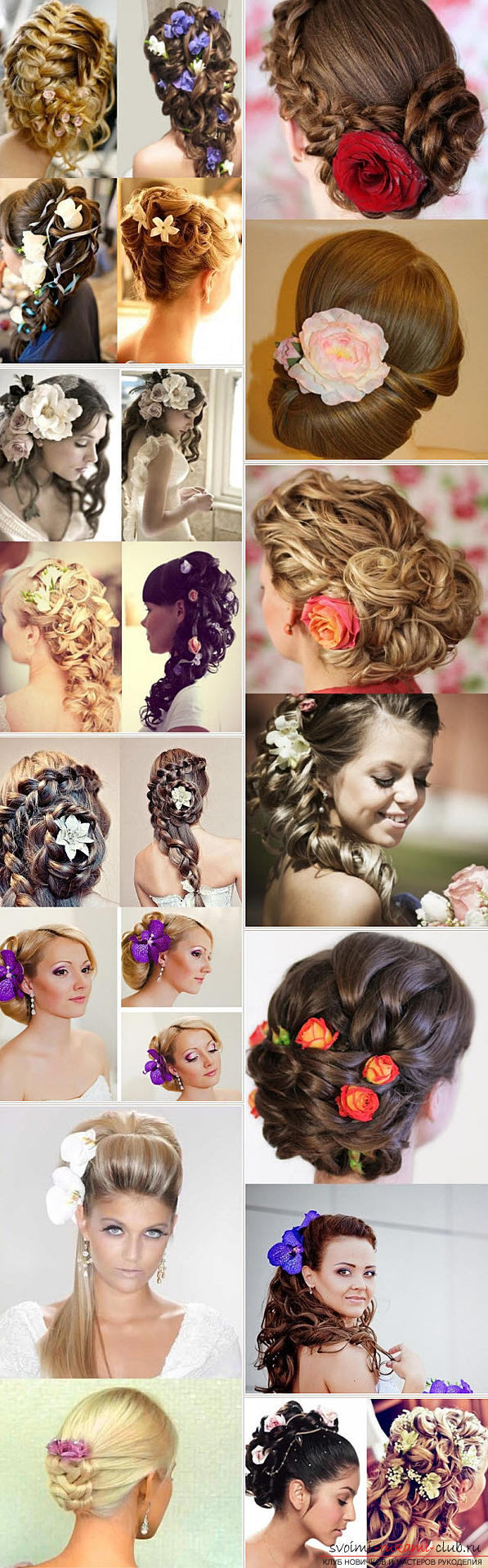 Master the mastership of creating hairstyles for the bride with your own hands. Photo №4