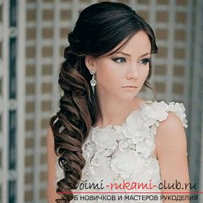 A lot of wedding hairstyles for 2016 with their own hands. Photo Number 14