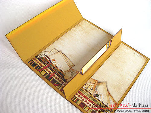 Instructions for the production of the original envelope - stand for the card yourself .. Photo №5