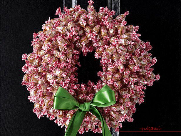 How to make a Christmas wreath by yourself .. Photo # 7