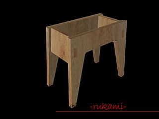 Photo to the lesson on making a small bench for a child with a secret box. Photo Number 18