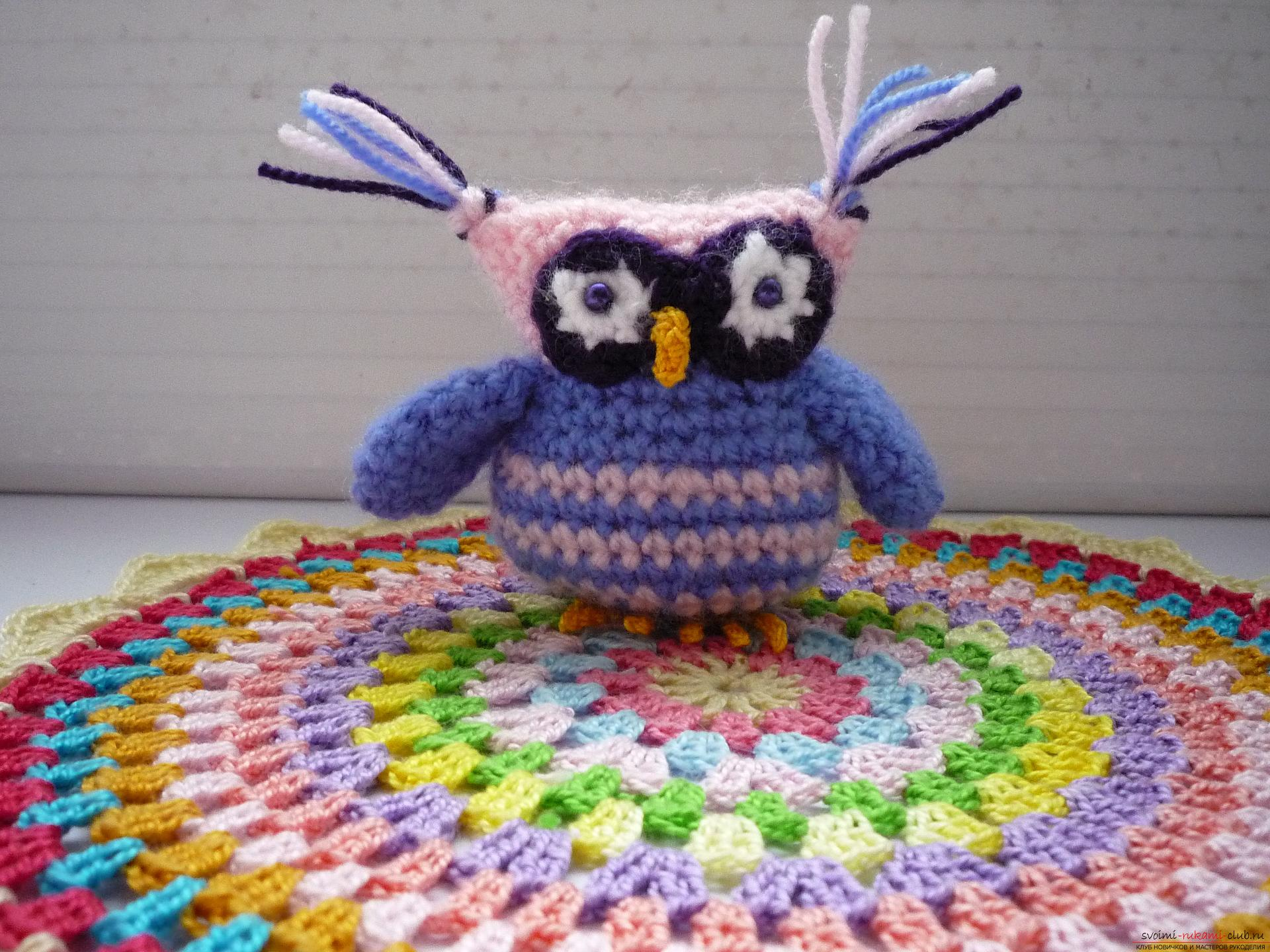 A detailed master-class will teach how to crochet a toy - an amenity in the amigurumi style. Photo Number 19