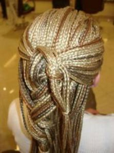Wedding hairstyles for long hair. Photo Number 18