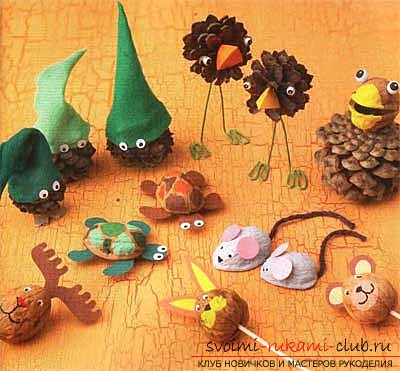 Ideas for autumn crafts. Picture №11
