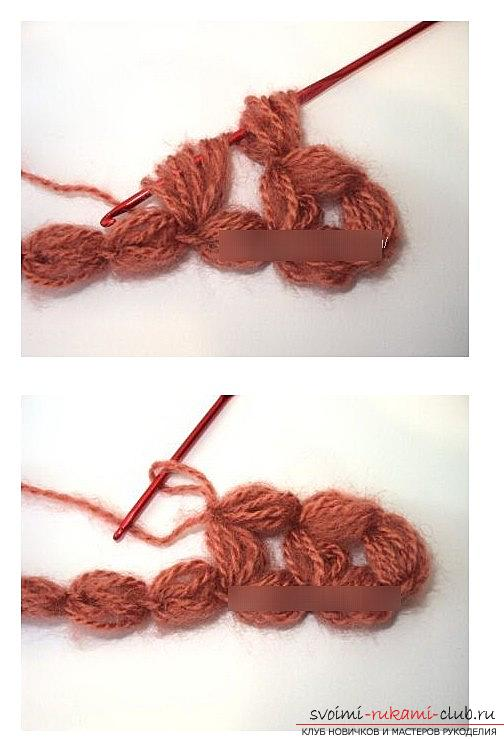 Methods of creating a pattern of crochet and bells - a magnificent pattern by their own hands. Photo Number 9