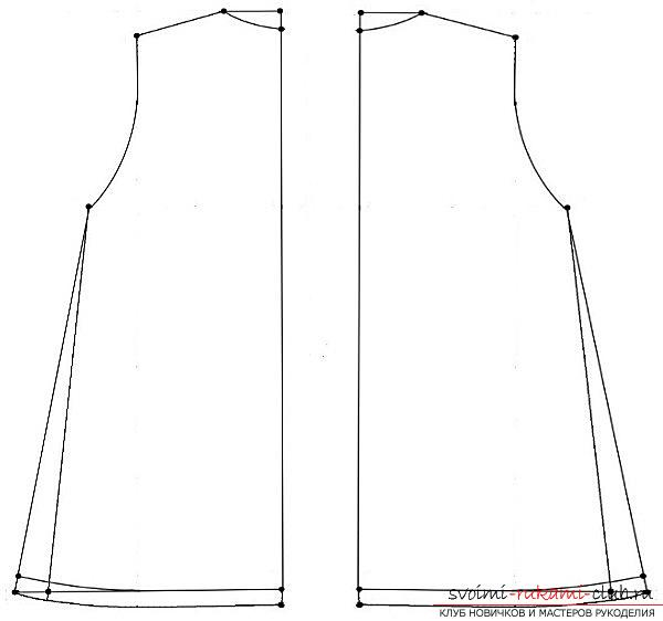How easy it is to cut and sew a sundress for a girl. Picture №3