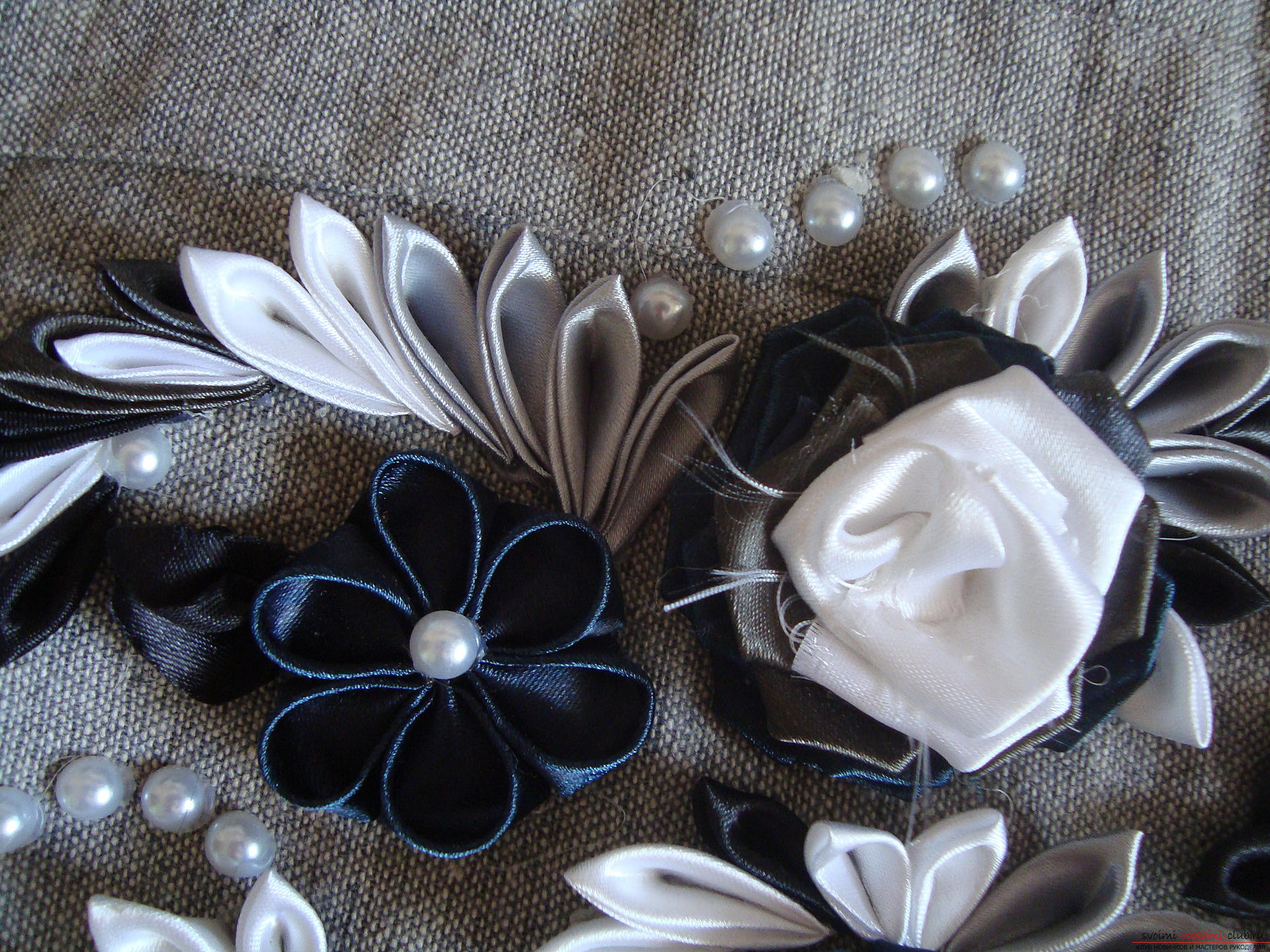 Photo to the guide on creating bags with Kansas flowers. Picture №10