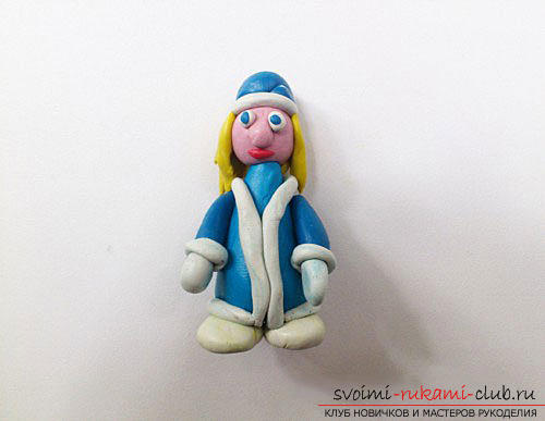 New Year's modeling of fairy-tale heroes from plasticine. Photo Number 11