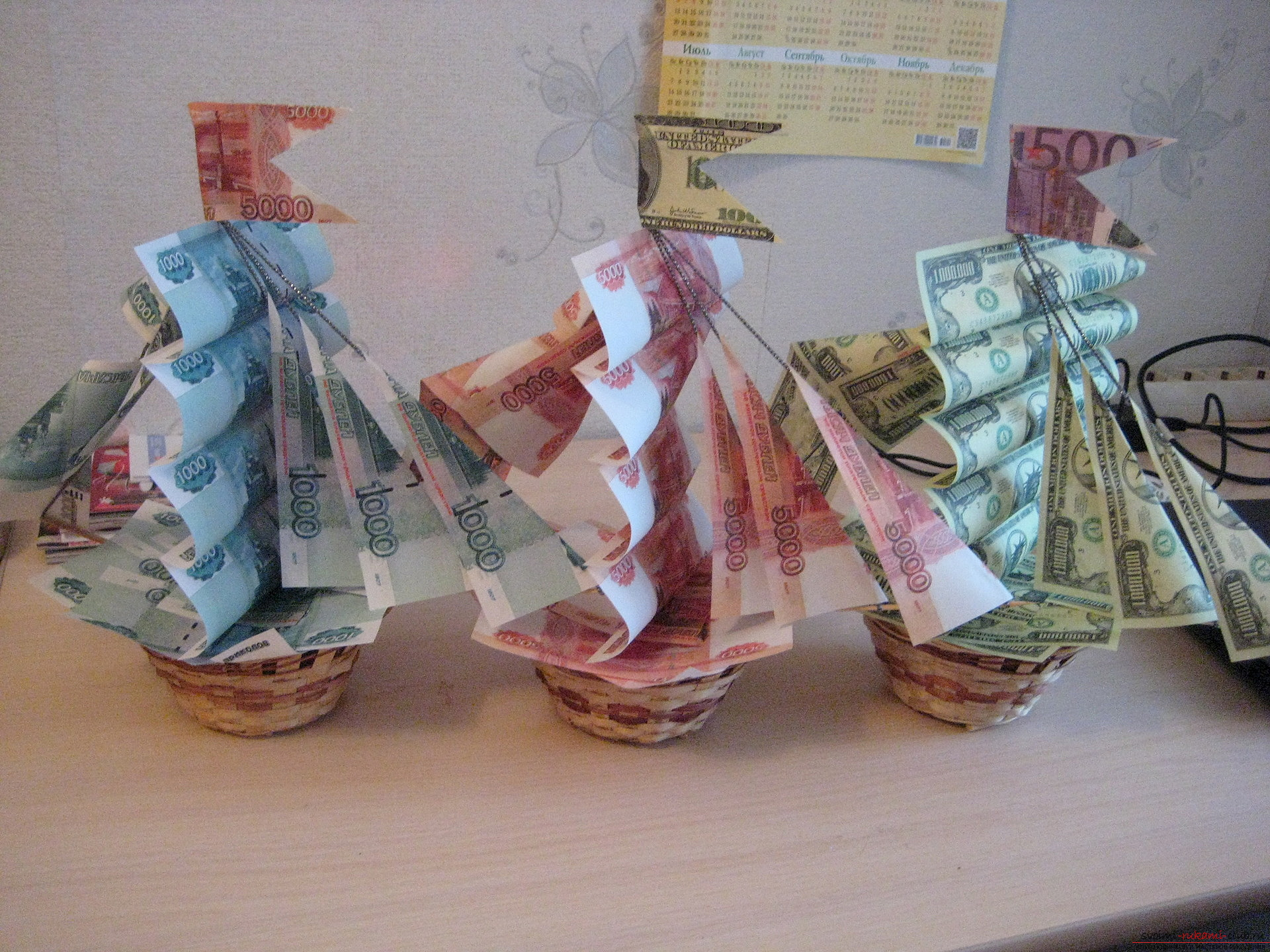 Funny gifts from banknotes. Picture №3
