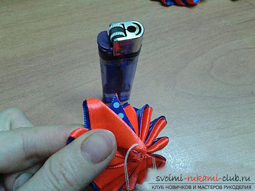 Original marshmallow flower with own hands. Picture №3
