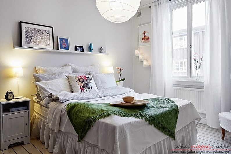 The way to make a Scandinavian interior of the house with your own hands for an apartment? Ways of implementation, ideas and photos .. Photo # 5